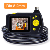Blueskysea 8 2MM 2 7 LCD NTS100R Endoscope Borescope Snake Inspection Tube Camera 2M Cable
