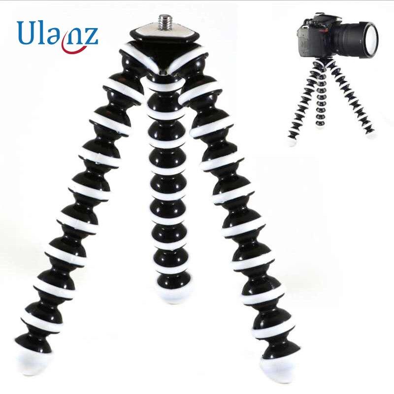 Grand modèle Flexible De Bureau Trépied Octopus Style Selfie Bâton Stand titulaire pour Gopro Caméra/SLR/DV iphone Samsung téléphone