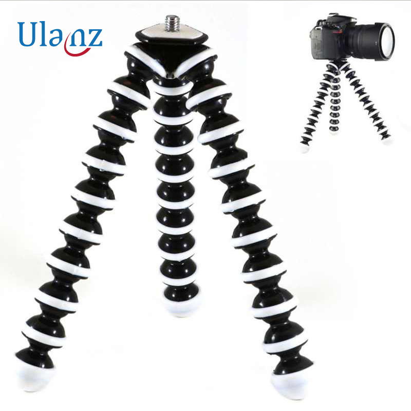 Große modell Flexible Desktop Stativ Octopus Stil Selfie Stick Stand halter für Gopro Kamera/SLR/DV iphone Samsung telefon