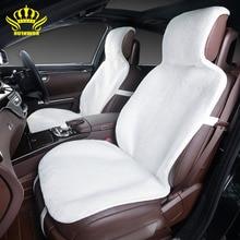 2ШТ пререднее сиденье накидки на сиденья автомобиля,чехлы на сиденья автомобиля премиум-класса искусственный мех под стриженный мутон 7цветов чехлы для автомобиля for car лада гранта peugeot 206 нива нива 4×4 киа рио 3