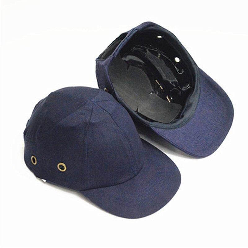 Bump Cap Arbeit Sicherheit Helm Baseball Hut Stil Schützende Sicherheit Harte Hut Arbeit Tragen Sicherheit Kopf Schutz Seite 4 Löcher Schutzhelm Arbeitsplatz Sicherheit Liefert