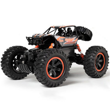 Rc Car 1/14 4Wd Remote Control High Speed Vehicle 2.4Ghz Electric Rc Toys Monster Truck Buggy Off-Road Toys Kids Surprise Gift цена 2017