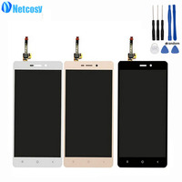 Netcosy Lcd Display Touch Glass Digitizer Assembly For Xiaomi Redmi 3 3S Hongmi 3 3s 5