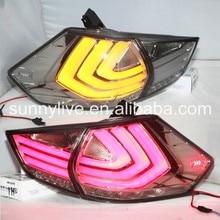 Lente transparente Led Luces Traseras de luz Para Nissan x-trail 2014-2015 Nuevo Rouge LED Luz Trasera lámpara