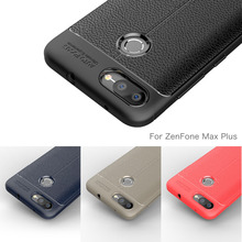 Phone Case For Asus ZenFone Max Plus M1 Case Carbon Fiber Silicone Cover For ASUS ZenFone Max Plus M1 ZB570TL X018D Coque Etui