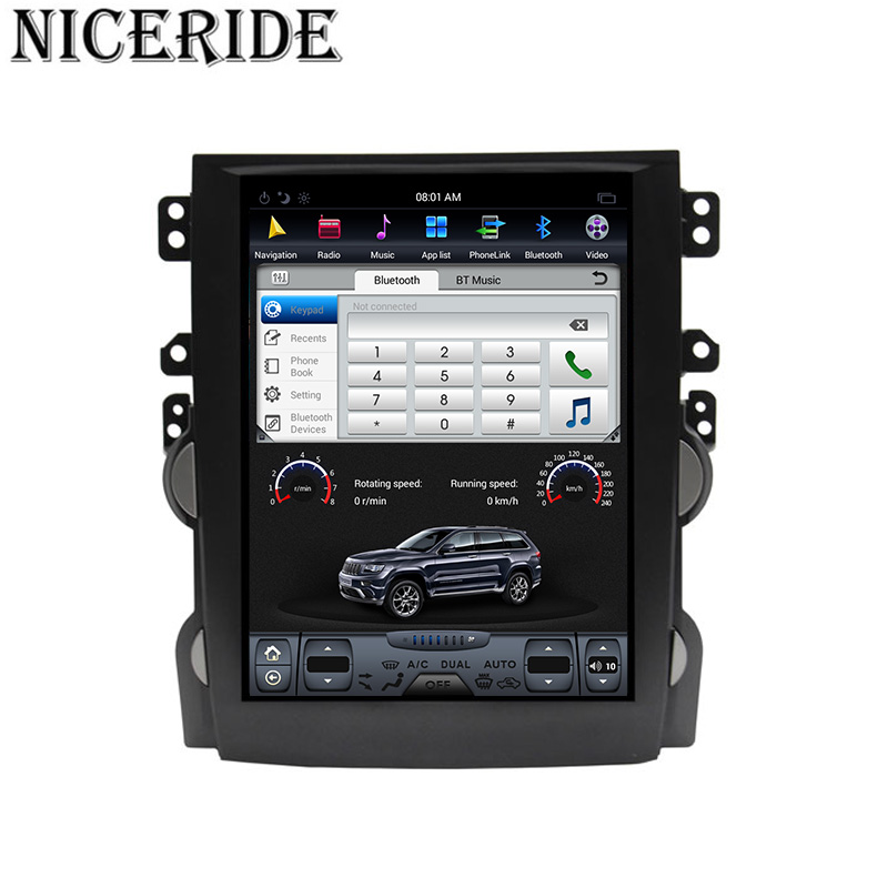 """Sale Android 7.1 10.4"""" Tesla Vertical Touch Screen Gps Multimedia for Chevrolet Malibu 2010-2014 Video Radio Player In Dash Navigaton 3"""