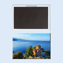 Rectangle Magnets,Ohrid Macedonia Tourist Refrigerator Magnets 21459 поло print bar macedonia