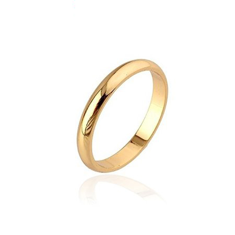 Men/ Women Wedding Rings Bijoux Jewelry Anel Gold Ring Ouro Anillos Bague Aneis Casamento Joias Bijouterie Free Shipping R0132