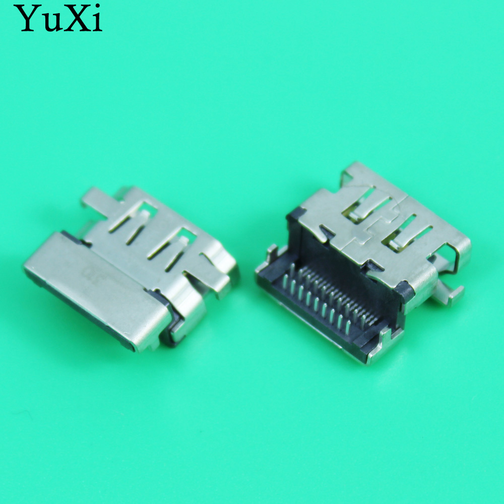 YUXI New Replacement HDMI Female Jack / PCB Socket Connector / 19P HDMI Port For Asus Lenovo HP Samsung Etc Laptop Motherboard