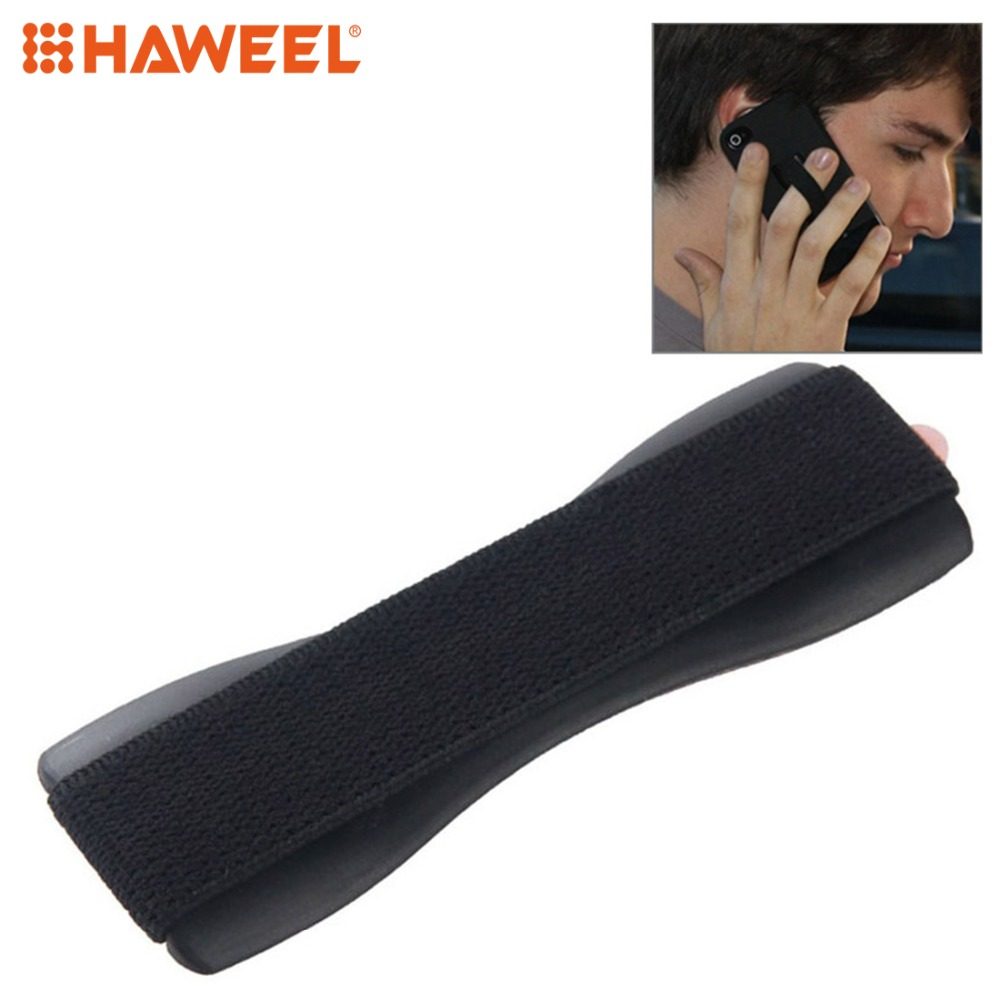 HAWEEL Finger Grip Elastic Band Strap Phone Holder For iPad iPhone Galaxy Huawei Xiaomi LG HTC and Other Smart Phones in Phone Holders Stands from Cellphones Telecommunications