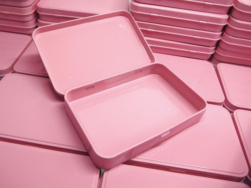 20 piezas 133*88*20mm Rosa antioxidante de Metal adorno medicina cosmética caja de juguete  juguetes de productos de almacenamiento de embalaje de cajas-in Muñecas from Juguetes y pasatiempos    1