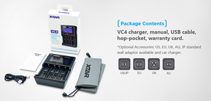Image 5 - XTAR VC4 Battery Charger 20700 18650 21700 14650 17335 17670 18490 10440 14500 16340 17500 18350 18500 18700 22650 25500 32650