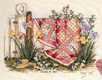 Fishxx Cross Stitch,C051 scenery [garden of Eden]rural boudoir decoration,14CT,Need to embroidery