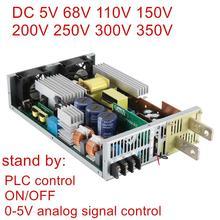 Dc 68 v 110 v 150 v 200 v 250 v 300 v 350 v 스위칭 전원 공급 장치 0 5v 아날로그 신호 제어 소스 변압기 ac dc plc 제어