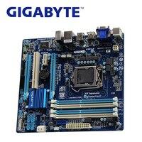 LGA 1155 DDR3 For Intel Z77 Gigabyte GA Z77M D3H Original Motherboard SATA 3 2x PCI E X16 Desktop Mainboard HDMI VGA Z77M D3H