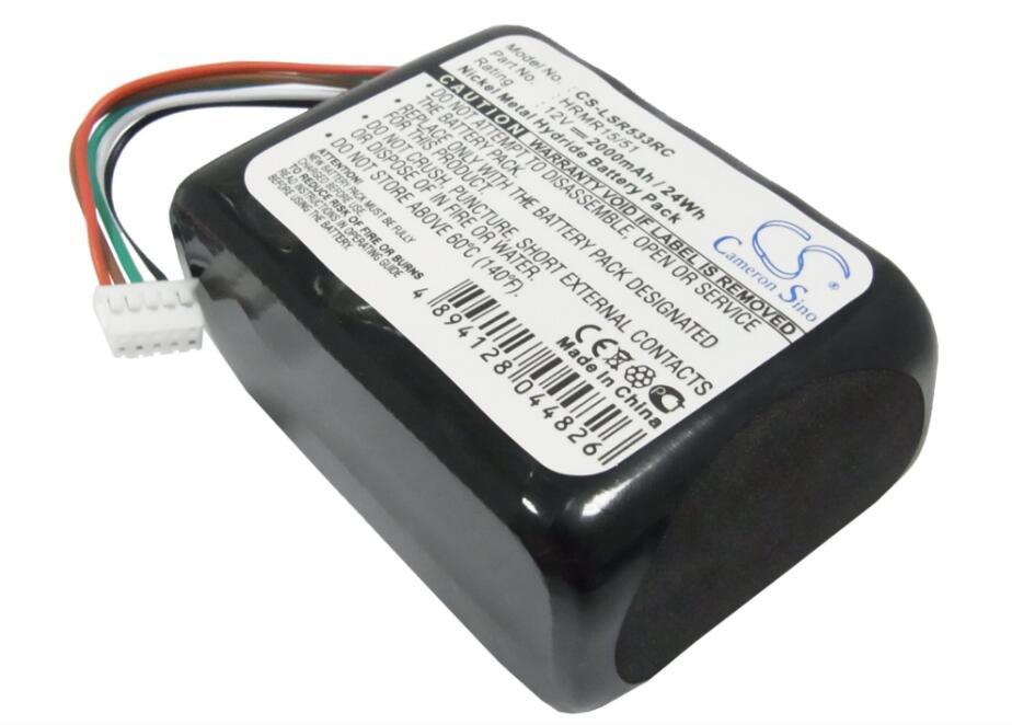 Batería De 2000 Mah Para Radio 533-000050 Hrmr15/51 Nt210aahcb10ymxz