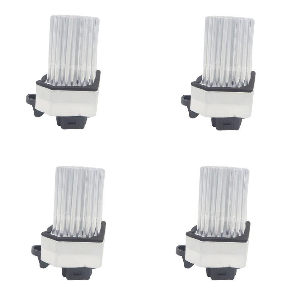 4PCS 64116920365 Blower Motor Resistor AC Heater Fan for BMW E39 E53 E83 E46 E36 325