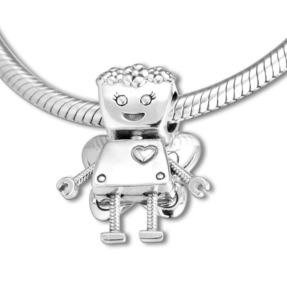 1ae94f9b88d4 CKK cuentas Floral Bella Bot encantos adapta Original pulseras del encanto  925 cuentas de plata esterlina para la fabricación de la joyería koraliki  ...
