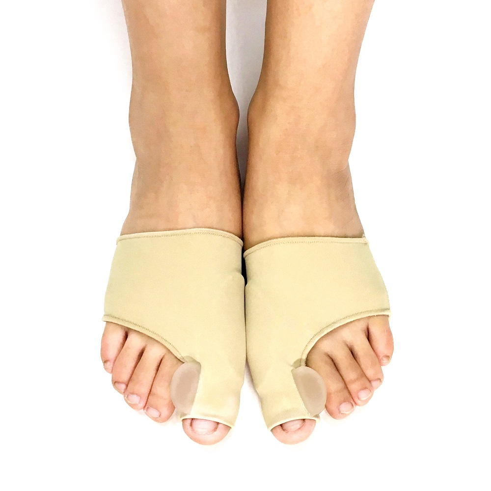 SpringYard Fabric+Gel Hallux Valgus Orthopedic Sleeve Bunion Corrector Toe Separator Big Toe Protector Foot Care Lahore