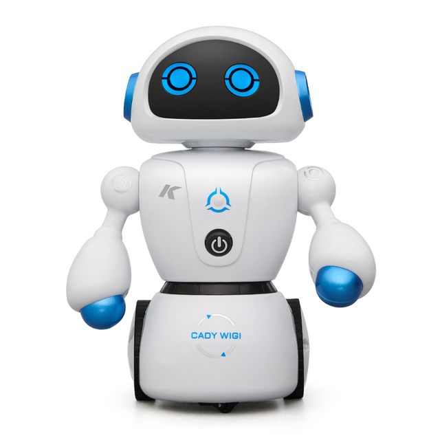 JJRC R6 Intelligent Robot With Line-Following Maze-Solving Function Intelligent RC Robot Toy Action Toy Figure Best Gidt For Kid