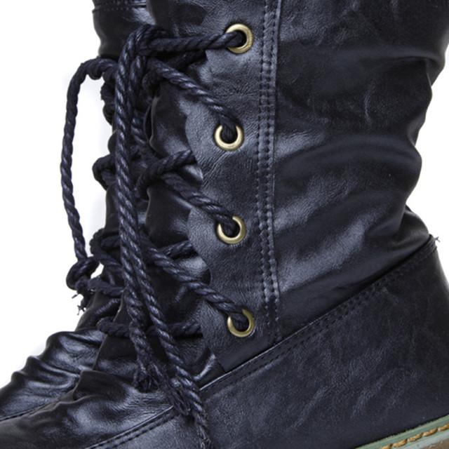 Winter Women Snow Boots Warm Round Toe Comfortable Flat Shoes Female Fashion Boots Popular Wholesale DGT674