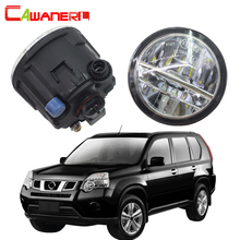 Cawanerl For Nissan X Trail T31 Closed Off Road Vehicle 2007 2013 Car LED Fog Light