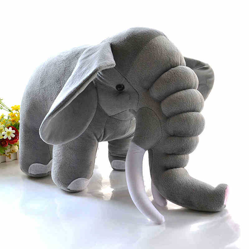 Hanhanho Good Quality Elephant Giant Plush Toy Stuffed Animal Doll