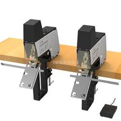 Flache/Sattel Verbindlich Elektrische Doppel Hefter Maschine Für Universal 6mm 8mm Heftklammern Binder Papier Buch Binden Maschine ST-100G 1600 watt