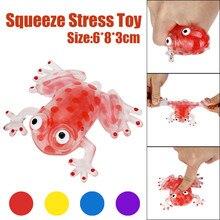 Fun Antistress Kawaii anti-stressz 6cm gyöngy Stressz labda Sticky Squeeze Békák Toy Toys A legjobb ajándék a felnőttek és a gyermekek Q1