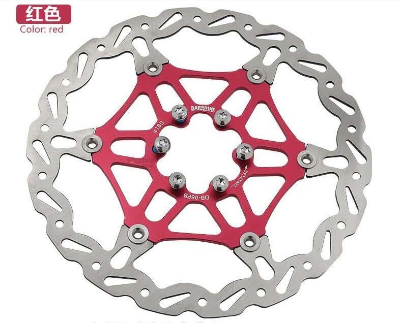 BARADINE plaquette de frein À Disque Flottant disques vtt disques plaquettes De frein de Vélo de frein À Disque De frein de Vélo accessoires