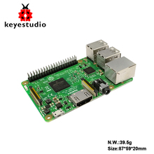 Original UK Raspberry Pi 3 Model B 1GB_RAM ARMV8_ARM7 BCM2837_64bit 1.2GHz Quad-core (NO acrylic BOX)