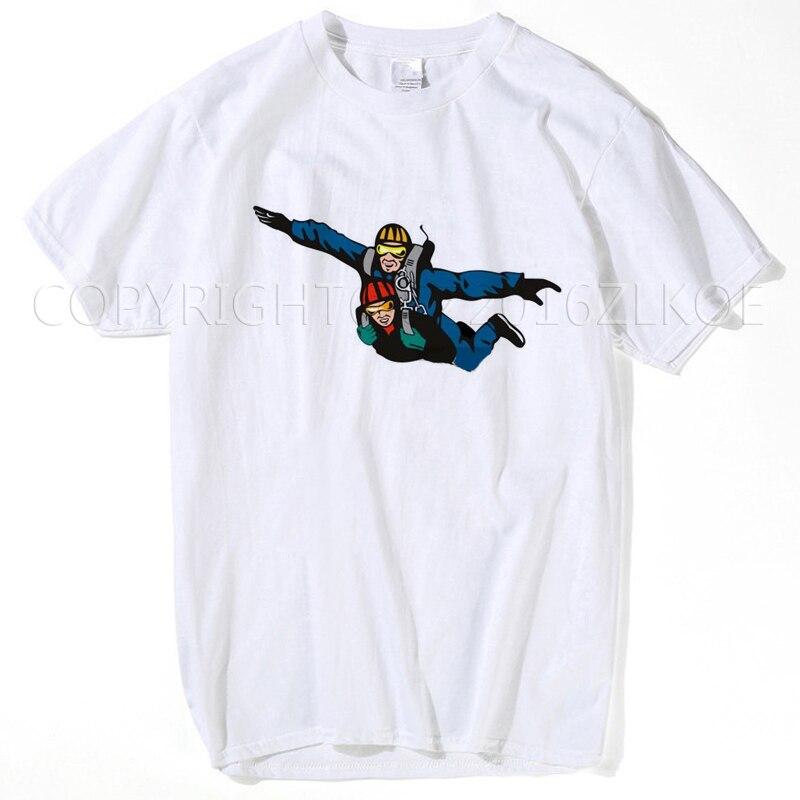 Vintage Skydiver T shirt Men Christmas Gift Mens Big Size m - xxxl Primer T-shirt summer tops for women 2018