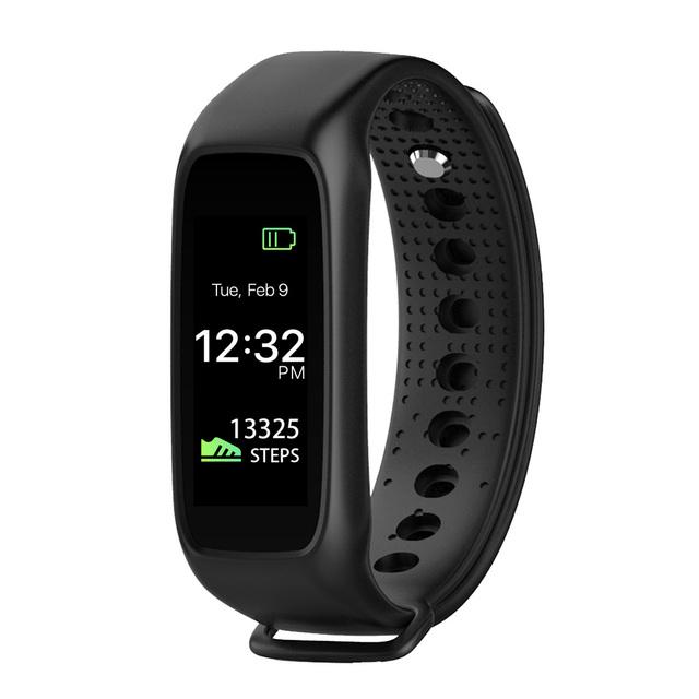 L30t inteligente bluetooth banda dinámica smartband heart rate monitor color tft-lcd de pantalla completa para apple ios android smartphone