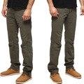 2016 Marca hombre pantalones moda pantalones Cargo Del Ejército de Camuflaje estilo Militar táctico pantalones de Trabajo Pantalones Casuales para hombres