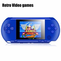 Hot Sale 2 7inch 16 Bit Portable PXP3 Handheld Video Game Players SLIM Games Console With