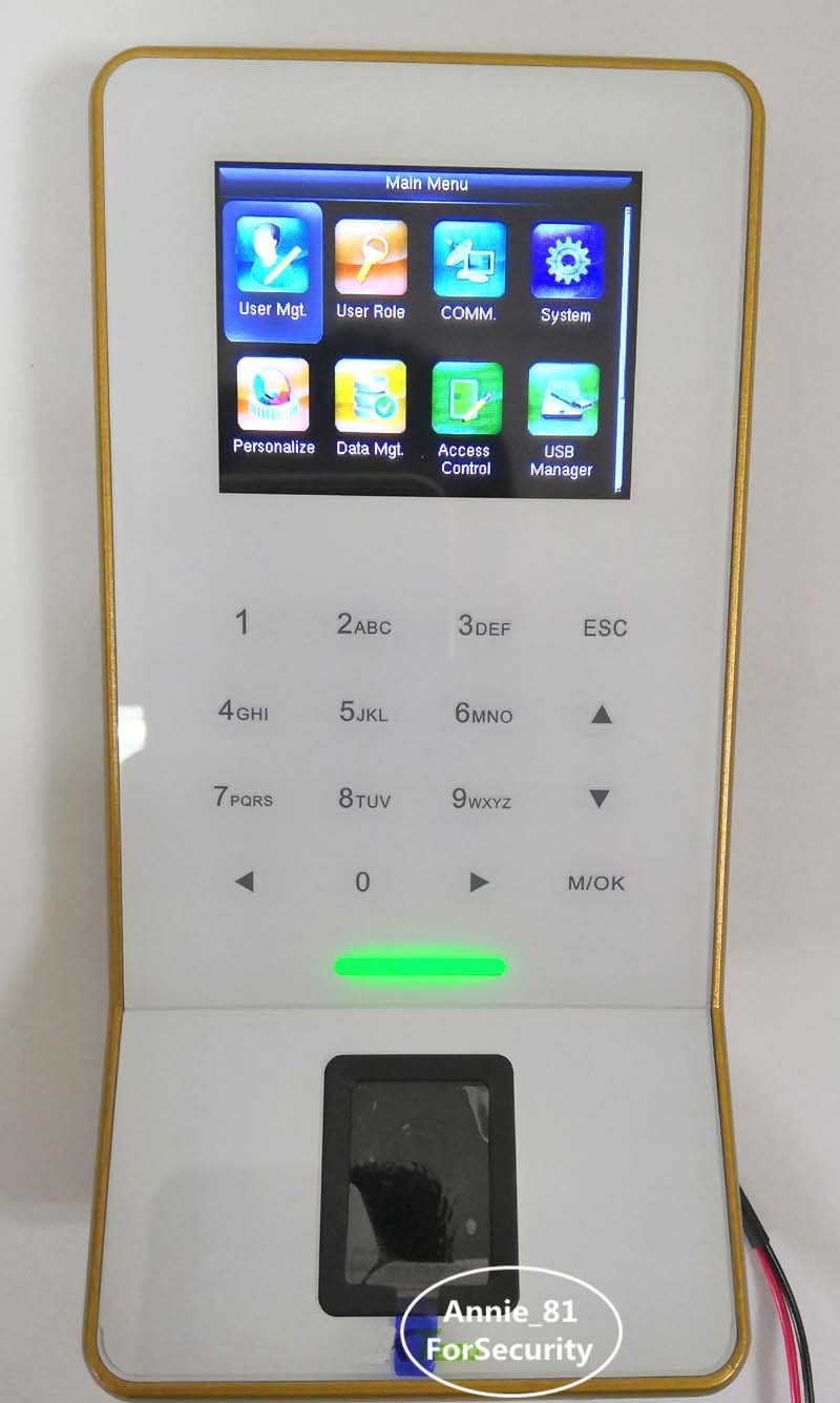 TCP/IP WiFi Fingerprint Access Control System Door Access Control With Time Attendance Terminal linux system tcp ip smart card access control system door access controller access control panel with time attendance function