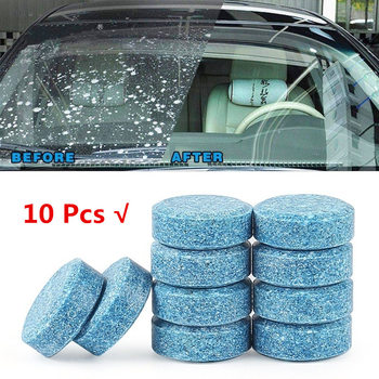 10 Pcs=40L Water Multifunctional Effervescent Spray Cleaner Car Window Cleaner Concentrated Glass Cleaning kitchenware Cleaning