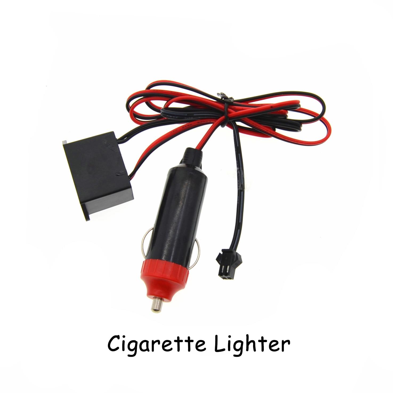 Auto EL Wrie Zigarettenanzünder stecker Neonlicht Decor licht Neon ...