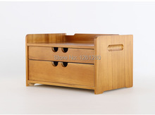 free shipping Wooden tool desk storage drawer debris cosmetic storage box jewelry retro style office Creative Home tool case