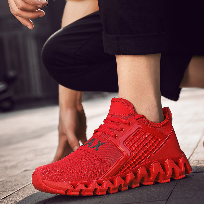 GUDERIAN New Men 39 s Casual Shoes Fashion Krasovki Male Sneakers Breathable Lace Up Trainers Men Shoes Zapatillas Hombre Verano in Men 39 s Casual Shoes from Shoes