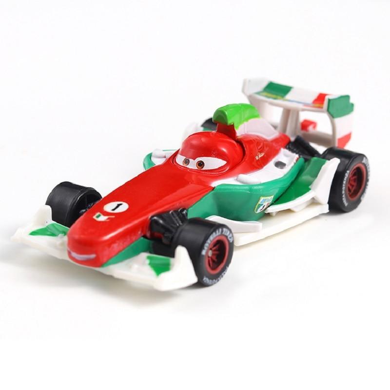 Cars Disney Pixar Cars 2 Francesco Bernoulli Metal Diecast Toy Car 1:55 Loose Brand New In Stock Disney Cars2 And Cars3