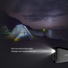 Portable Lightweight Power Bank with LED Flashlight