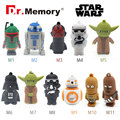 Flash drive Usb Star wars 32 gb usb stick 4 gb pen drive 2016 cartões de memória flash Presente pendrive de 8 GB 16 GB USB 2.0 darth vader robert