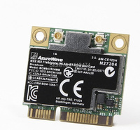 SSEA Free Shipping NEW For HP Broadcom half MINI PCI E 802.11AC Wlan Wifi + Bluetooth 4.0 Wireless card PSP 724935 001