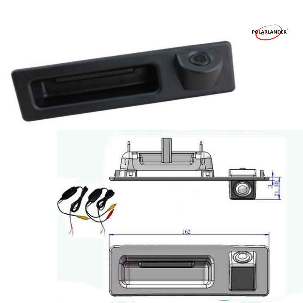 Caméra de recul sans fil CCD voiture parking caméra de recul 170 degrés pour BMW F10 F11 F25 F30 3 série 5 série X3 X4 X5