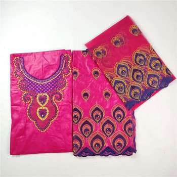 Wiele kolorów wybór afryki mody wysokiej jakości bazin riche getzner brode suknia nigeryjska koronki