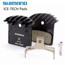 цена на Shimano J02a J03a Pads Deore Xt Slx Deore J02a J04c Cooling Fin Ice Tech Brake Pad Mountain M785 M675 M7000 M8000 M9000 M6000