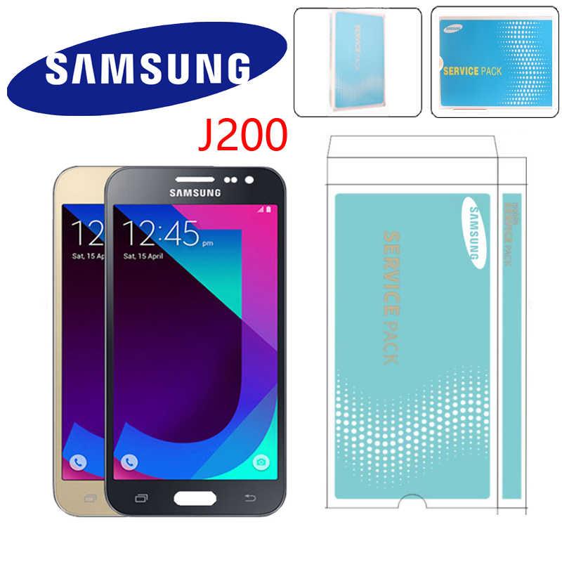 Original 5,0 ''AMOLED LCD para Samsung Galaxy J2 2015 J200 J200F J200H J200Y LCD pantalla táctil digitalizador reemplazo