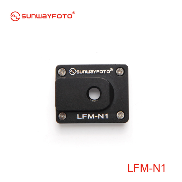 SUNWAYFOTO LFM-N1 Tripod Quick Release Plate Telephoto Lens Support  Foot mount plate for Nikon  70-200mm f/2.8