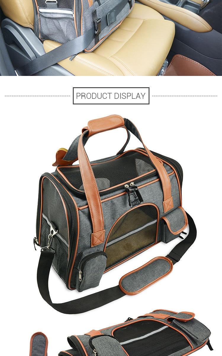Breathable K9 Dog Backpack Carrier 15